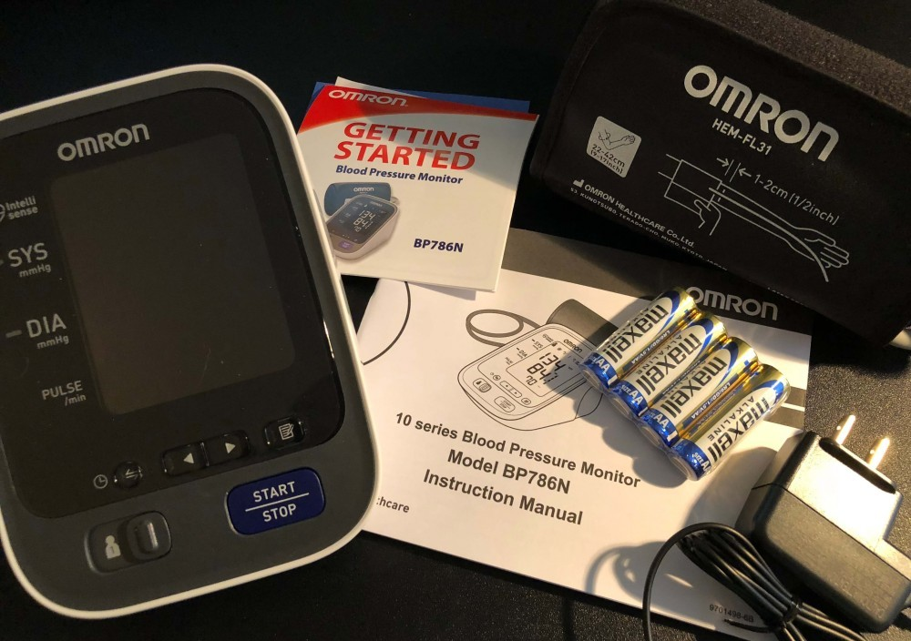 Omron 10 package contents