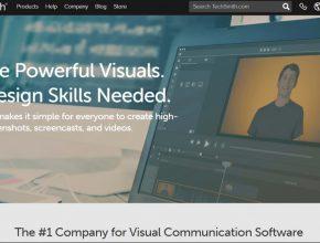 Camtasia video editing website