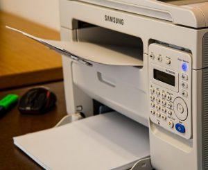Copier and printer