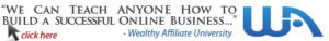 Wealthy Affiliate | We Can Teach Anyone to Build an Online Business